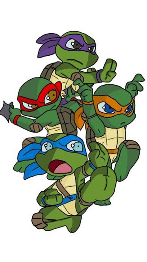 baby turtle turtles and ninjas on