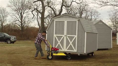 Ez Shed Mover by Ny Shed Co Shed Mover In