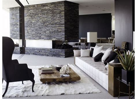 Black And White Decorating Ideas For Living Rooms by Black And White Modern Living Room Design Ideas Modern