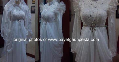 desain gaun akad nikah payet gaun pesta desain baju pesta kebaya modern dan