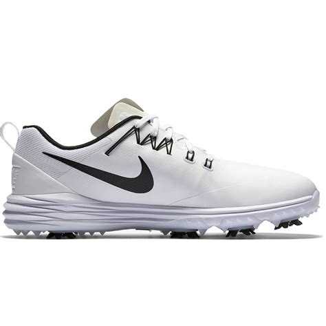 nike golf shoes lunar command 2 white black 2018