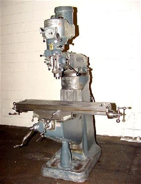 42inch Table 1 5hp Spindle Bridgeport 2j Vertical Mill