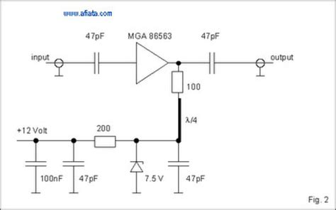 rf layout design basics rf power lifier design electronic circuit diagram and