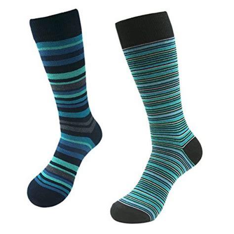 crazy pattern dress socks suttos men s thick cotton crazy fun colorful blue green