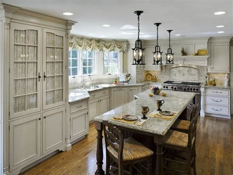 house beautiful ocean inspired kitchen urban grace french country kitchens hgtv