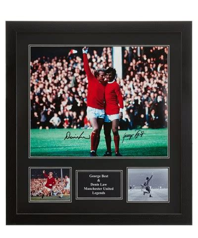 george best signed photo george best dennis manchester united signed photo