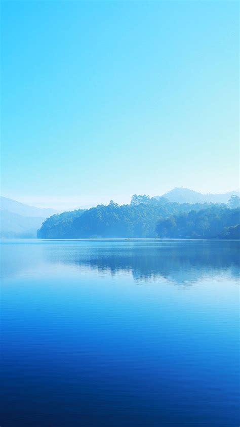 beautiful lake blue nature iphone wallpaper iphone