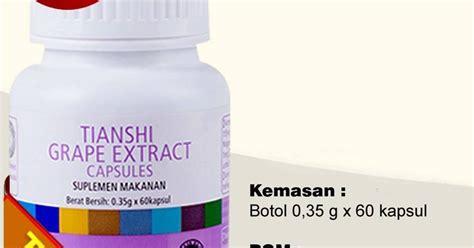 Tiens Grape Extract Nutrisi Darah Tinggi obat stroke jakarta grape extract capsules tiens