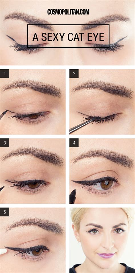 eyeliner tutorial and tips cat eye eyeliner tutorial trusper