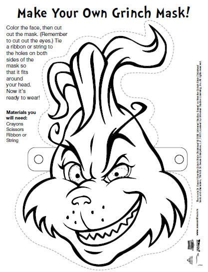 printable images of the grinch best 25 grinch mask ideas on pinterest grinch who stole