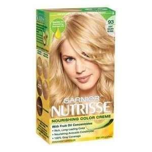 garnier nutrisse 93 light golden reviews nourishing color creme hl3 golden honey hair color garnier