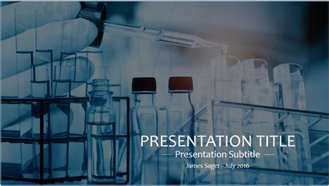 free science lab powerpoint template 9246 sagefox