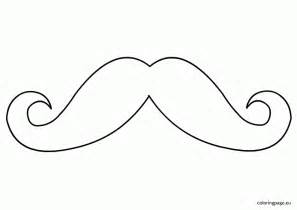 mustache coloring pages moustache coloring pages coloring home