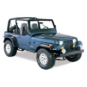 bushwacker 174 jeep wrangler 1990 cut out fender flares