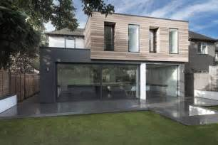 1950 Homes by Glass And Timber Addition To A 1950 S Hampshire House By