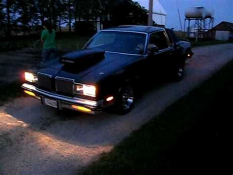 blacked out oldsmobile cutlass on 24 irocs 1980 oldsmobile cutlass on 24 irocs pt 2 by kust