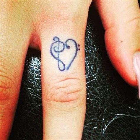 tattoo finger music 音乐符号纹身音乐符号大全 无限符号纹身