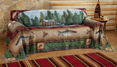 Western Sofa Covers by Lake Cabin Sofa Cover