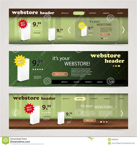 header design kit header design set royalty free stock images image 20882059