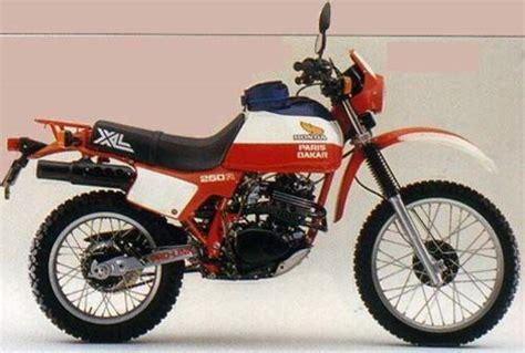 Motorrad Honda Xl 250 by Honda Xl 250 R Technische Daten Des Motorrades Motorrad