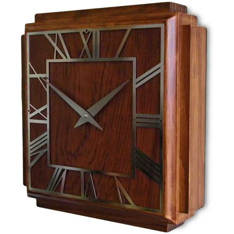 art deco wall 1930 s art deco wall clock 36cm