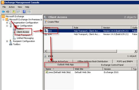 Search Exchange For Email Exchange Server 2010 Outlook Web App Authentication Settings