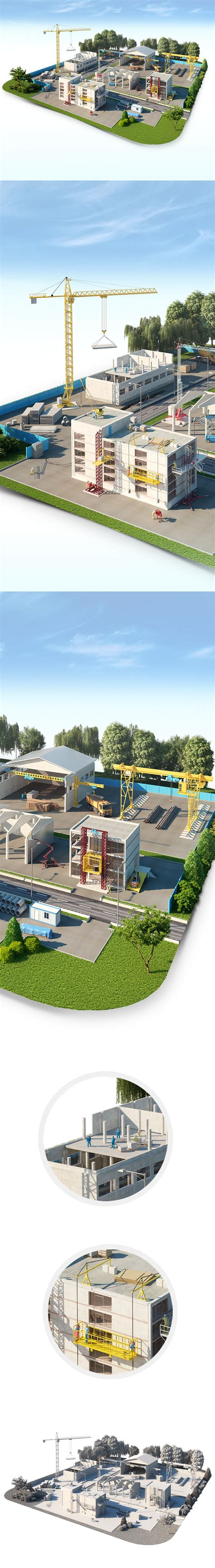 birt layout landscape industrial islands on behance