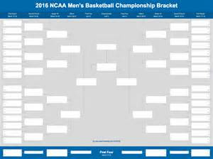 Empty Bracket Template by 2017 March Madness Bracket Excel And Sheet