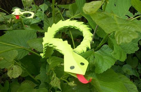 How To Make A 3d Snake Out Of Paper - 3d origami snake by rescue is possible on deviantart