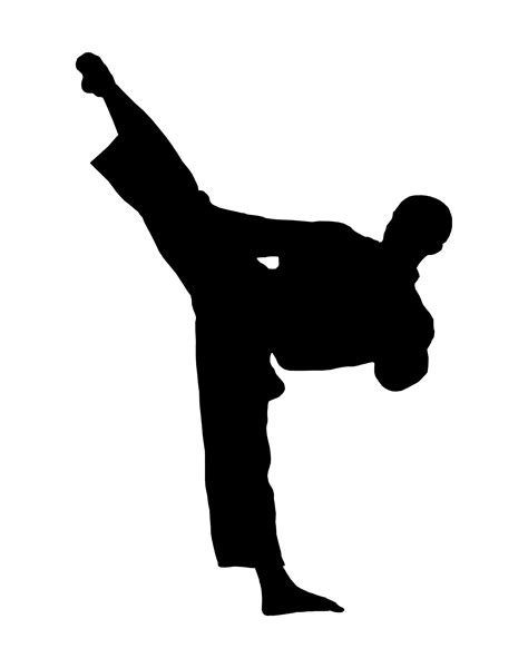 wallpaper animasi taekwondo free karate clip art pictures clipartix