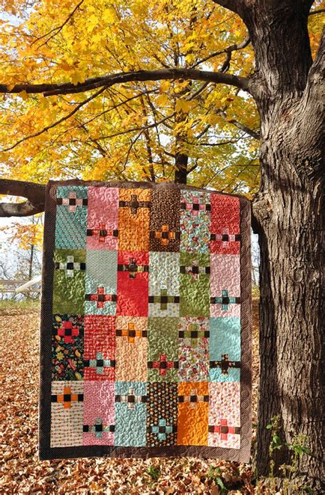 Posie Patchwork - more patchwork posies color blocking cool patterns and