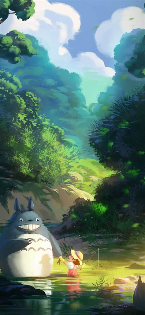 iphonexpaperscom apple iphone wallpaper av totoro anime