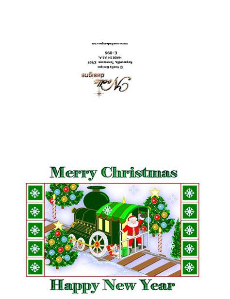 printable christmas cards pinterest santa train printable christmas card