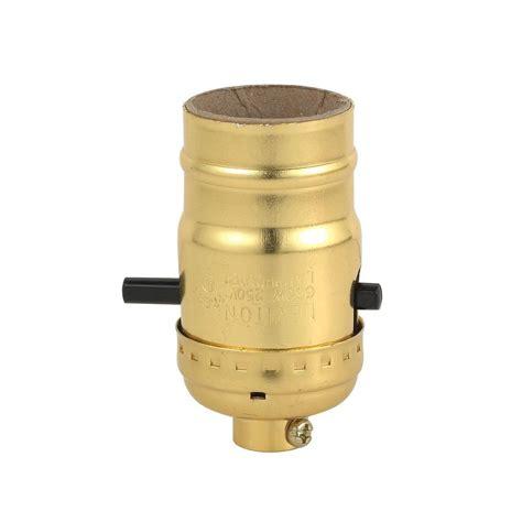 push button light switch home depot leviton push button socket l holder r50 06098 0pg the