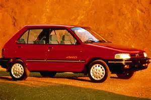 1990 Subaru Justy 1990 94 Subaru Justy Consumer Guide Auto