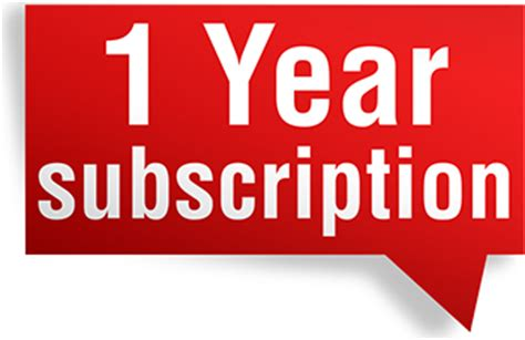 1 Year Membership one year subscription cem