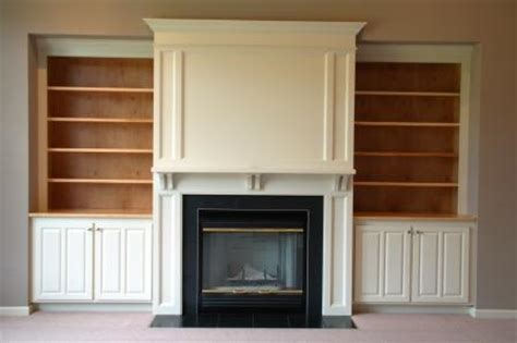 Built In Cabinets Around Fireplace by Gauger Swingly Construction Inc