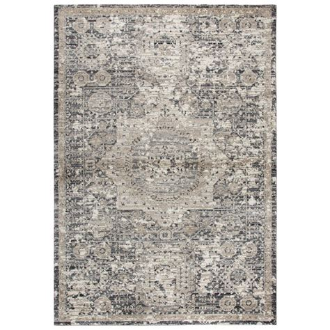 rug 3 x 6 rizzy home panache gray 5 ft 3 in x 7 ft 6 in area rug pncpn697733555376 the home depot