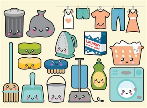 kawaii clipart premium vector clipart kawaii cleaning clipart kawaii