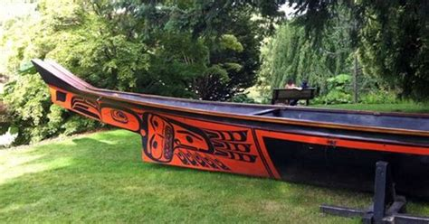 quileute canoes lootaas haida canoe first nations pinterest