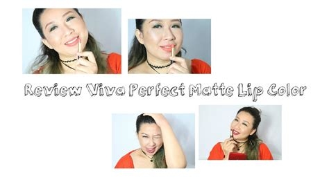 Lipstik Viva Matte review lipstik viva matte lip color