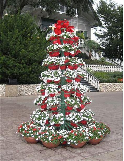 flower pot christmas tree picture jpg