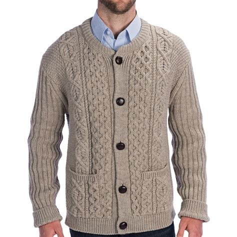 knit sweater peregrine by j g cable knit crew cardigan sweater