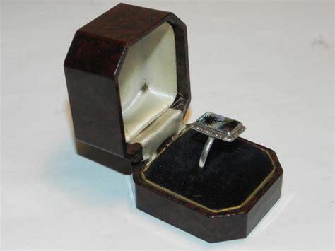 deco ring box antiques atlas bakelite deco alca ring box
