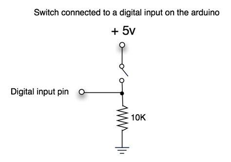 digital input pull up resistor pull up resistor on multiplexer