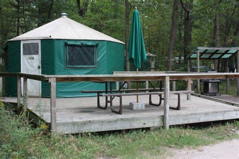 Gas Station Showers by Roofed Accommodation In Ontario Parks
