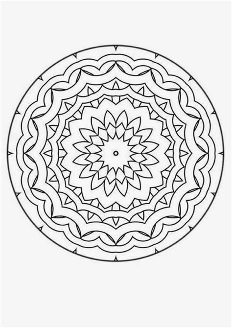 stress relief coloring pages easy coloring pages mandala coloring pages free and printable