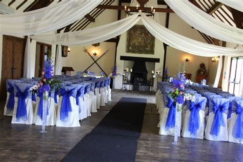 kerry darren s fabulous royal blue pink wedding at the
