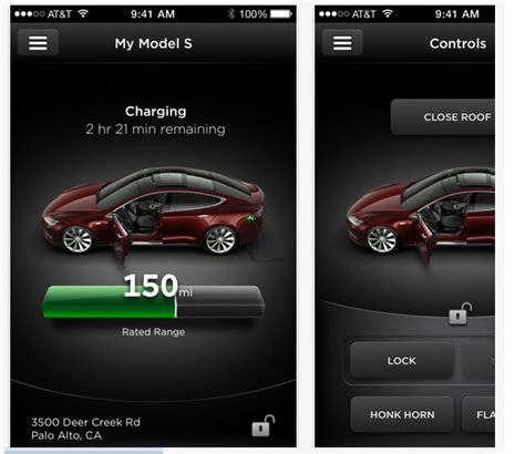 tesla application tesla will improve the application for ios users