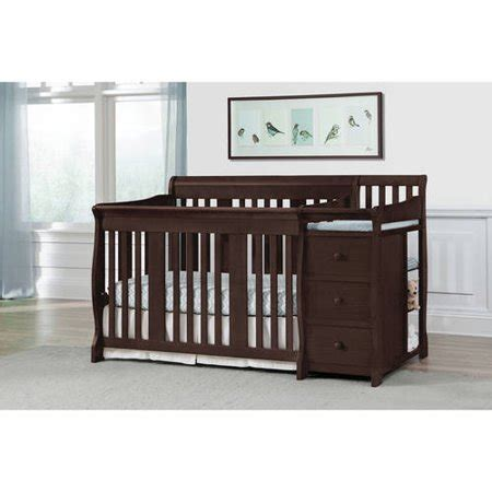storkcraft portofino convertible crib and changer